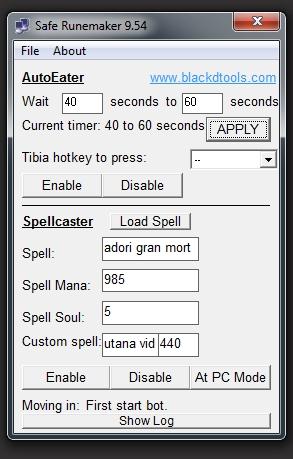 BlackD Safe Runemaker 9.81