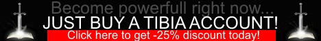 Buy a Tibia account