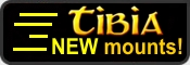 Tibia New mounts